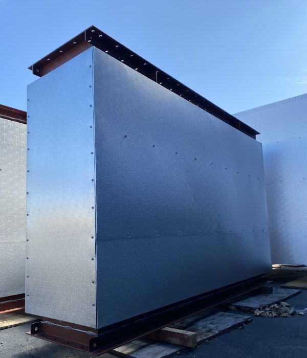 Industrial ventilation for pulp and paper